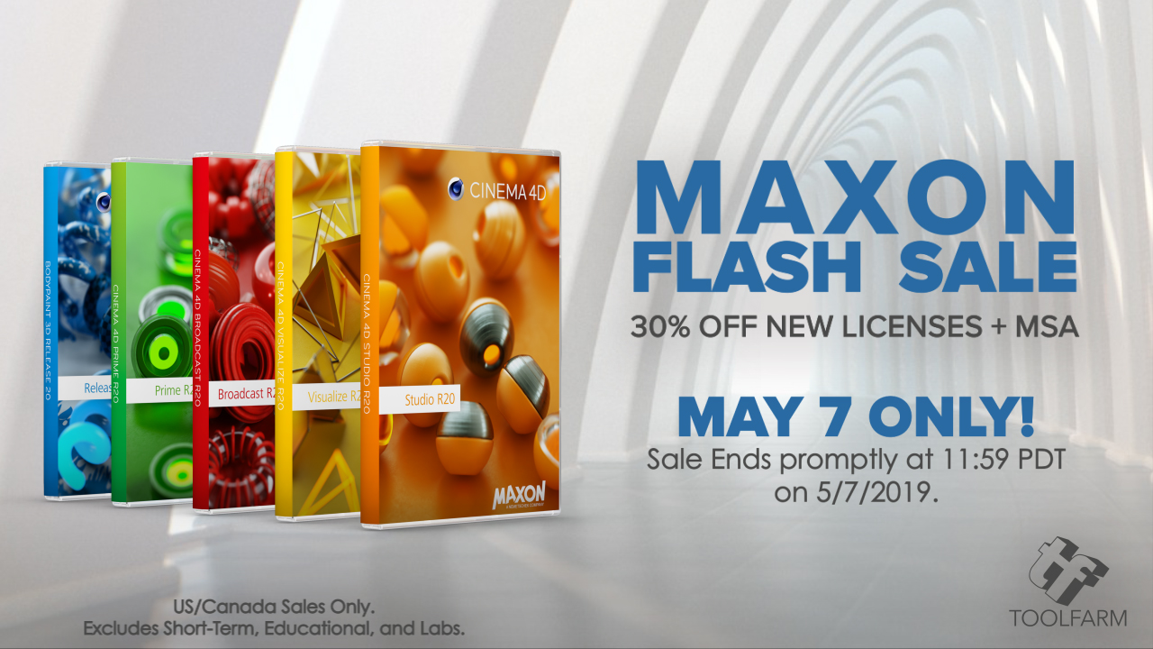 maxon flash sale