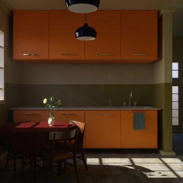 Kitchen Interior Scene