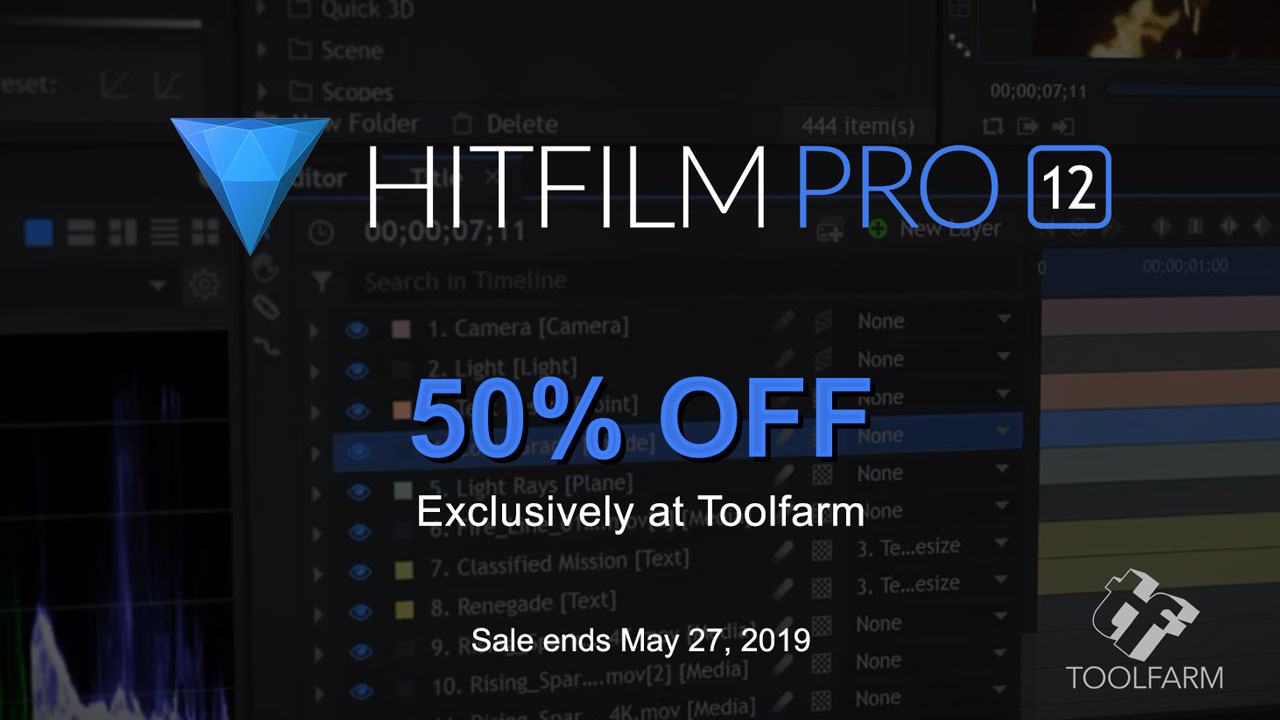 fxhome hitfilm pro 50% Off