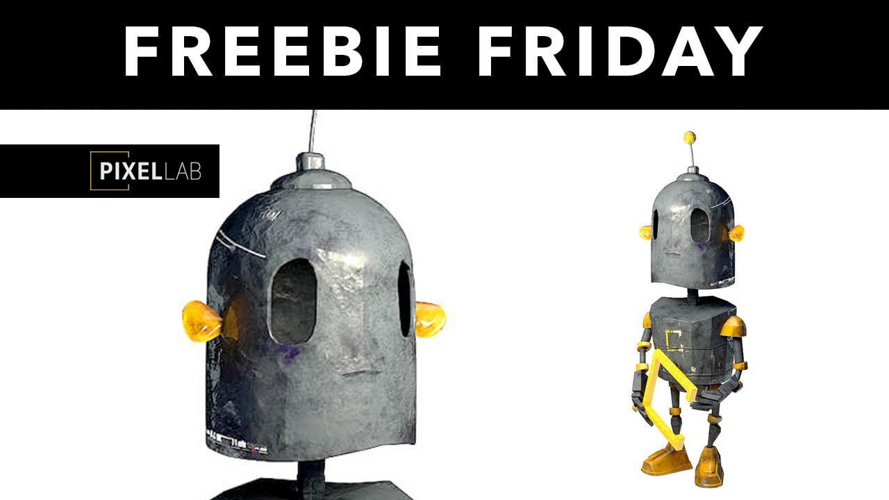 pixel labe free 3d robot