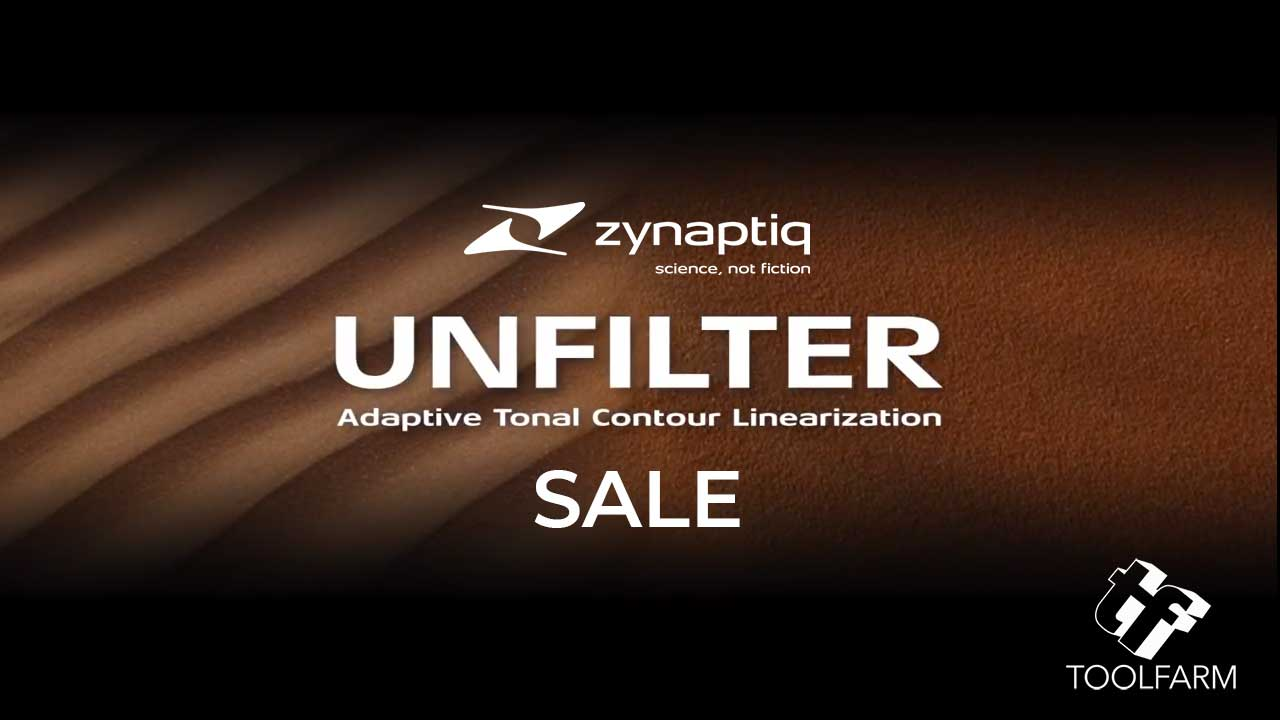 Zynaptiq Unfilter Sale
