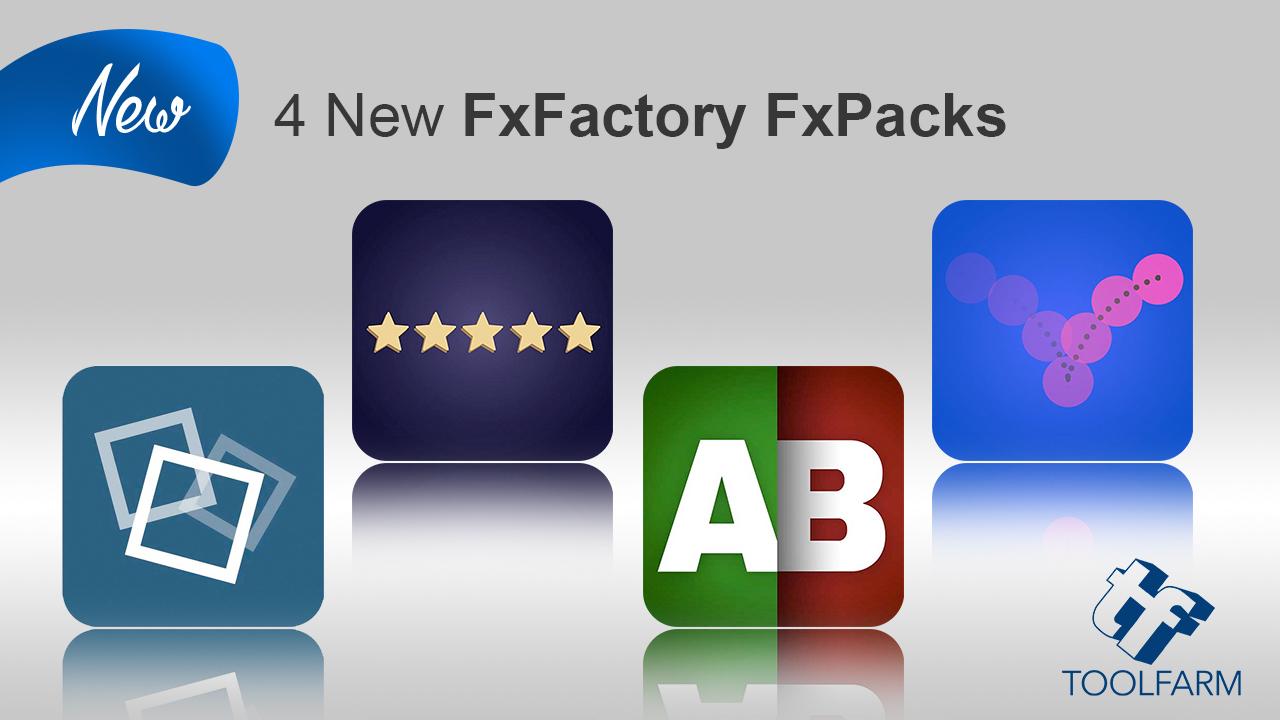 4 new fxpacks