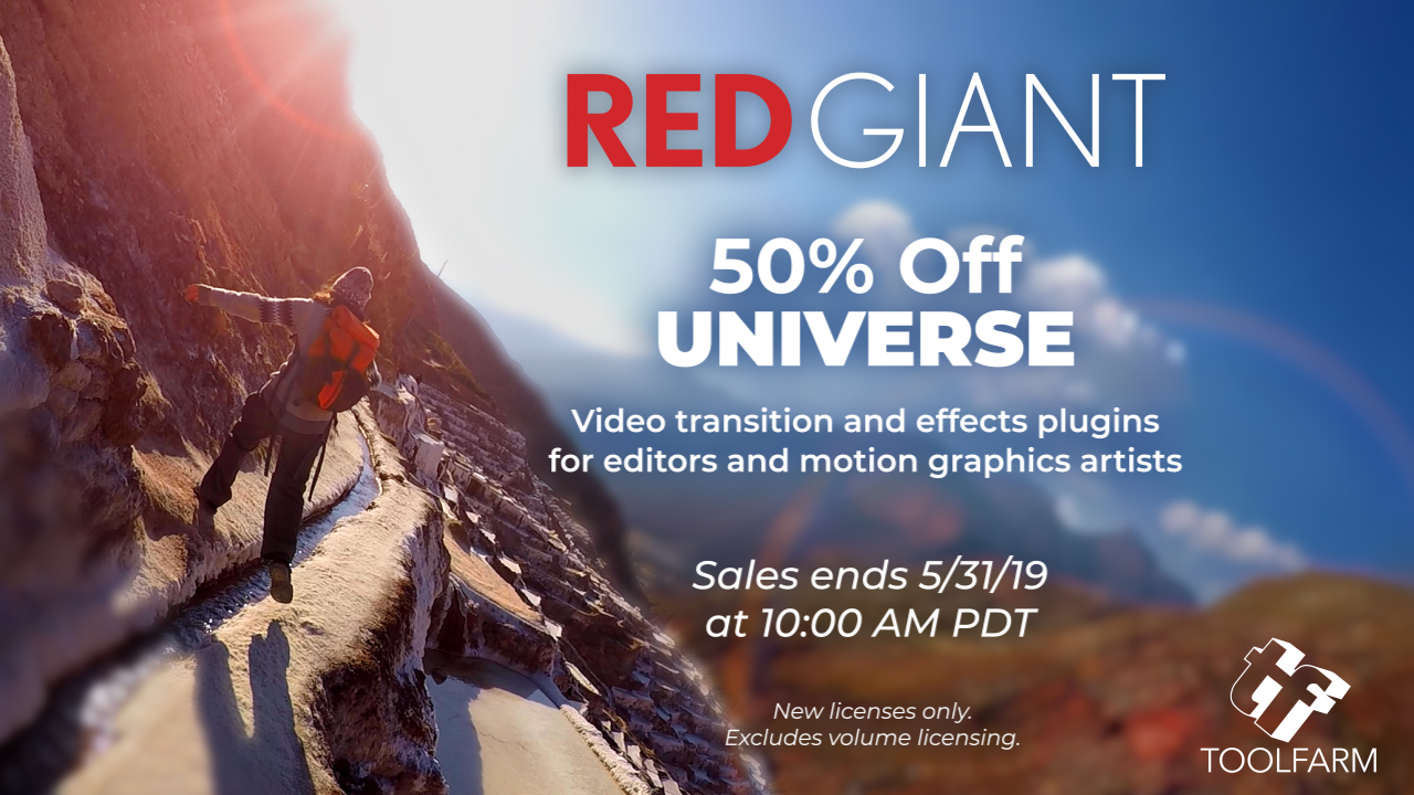 red giant universe flash sale