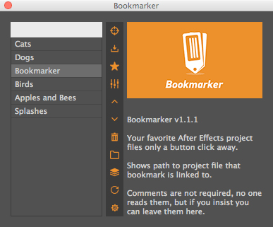 rendertom bookmarker