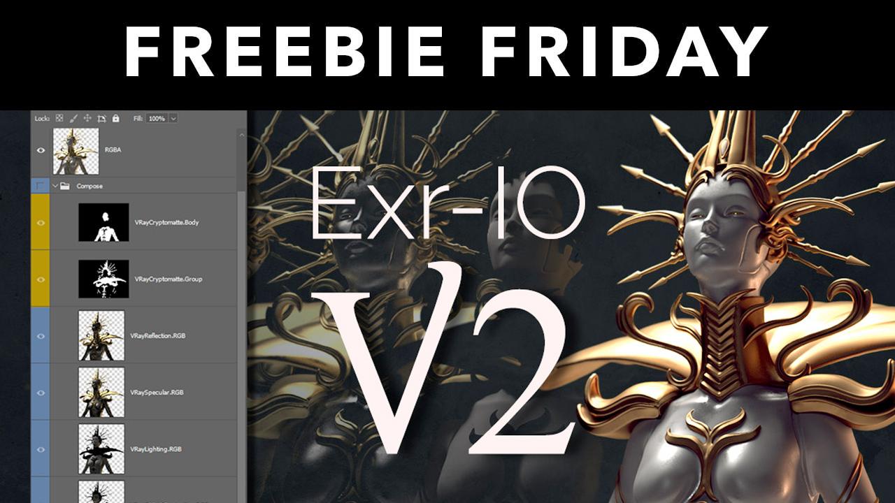 3d-io exr-IO freebie