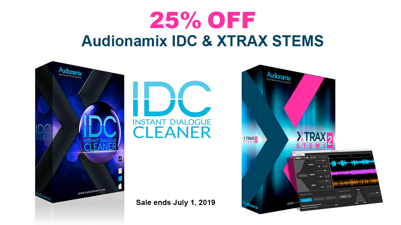audionamix June sale