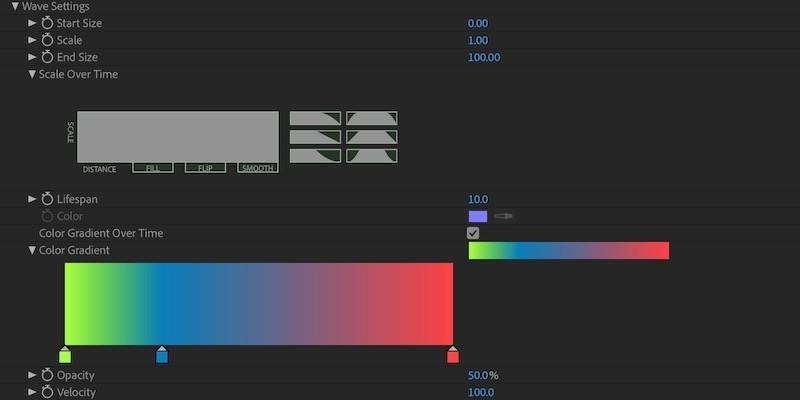 Aura Wave Parameter