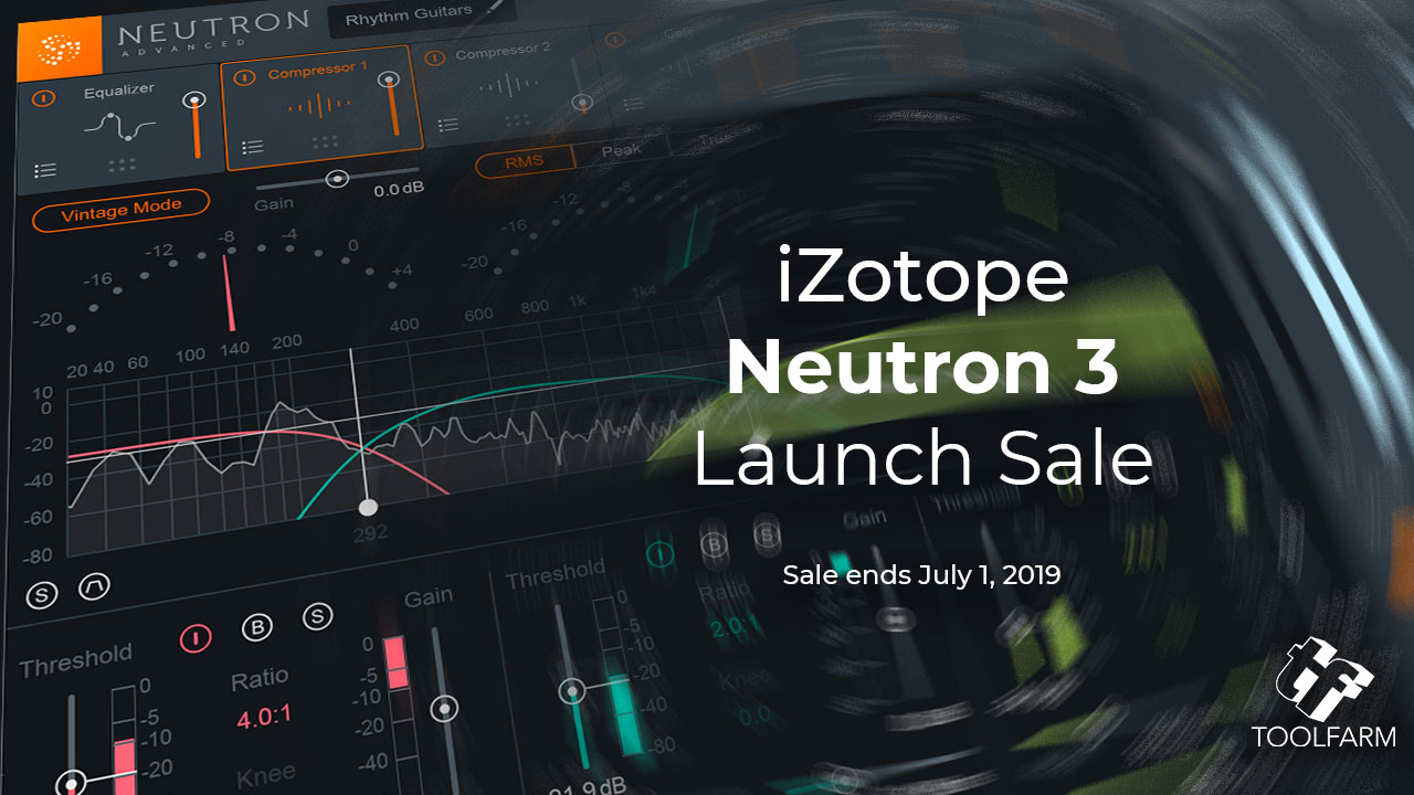 iZotope Neutron 3 Launch Sale