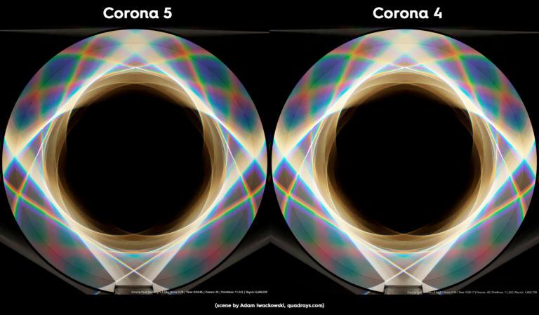 corona render 3ds v5 prism