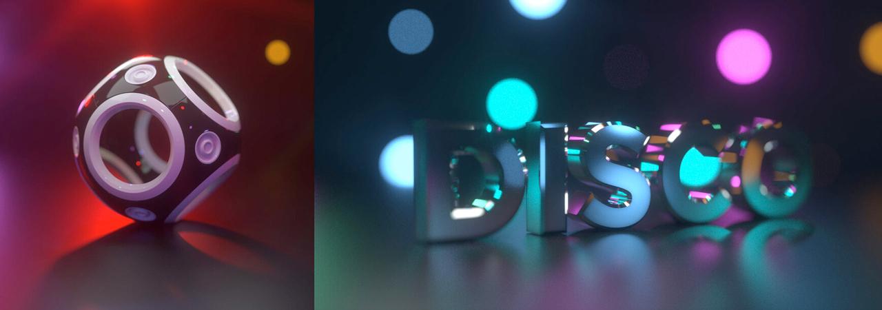 pixel lab octane lighting essentials disco studio
