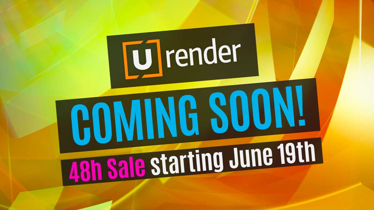 U-Render Sale Next Week