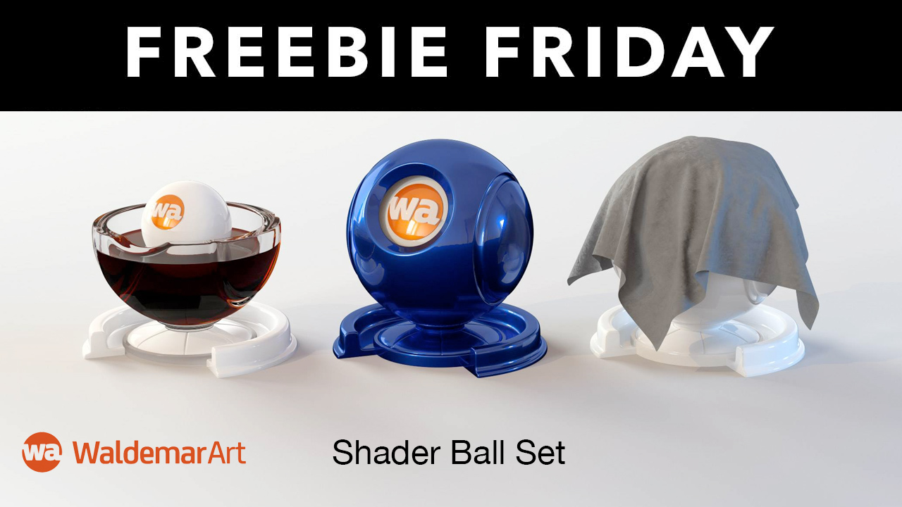 shader ball freebie