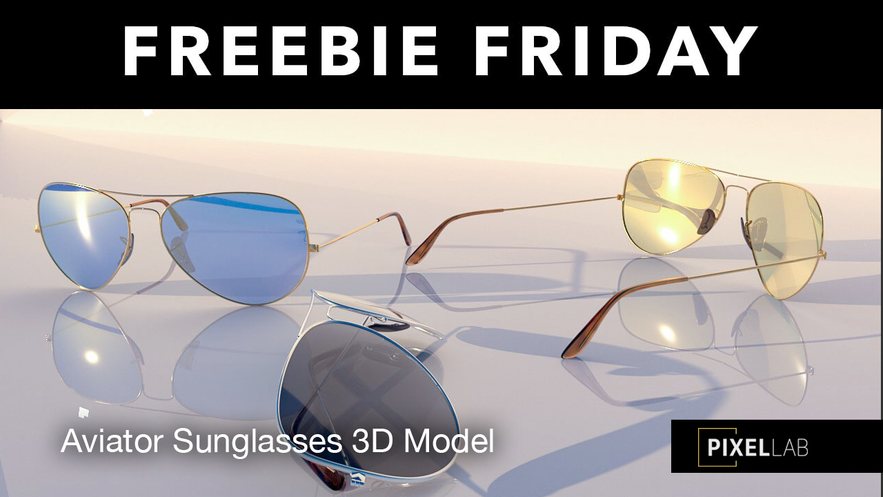 aviator sunglesses freebie