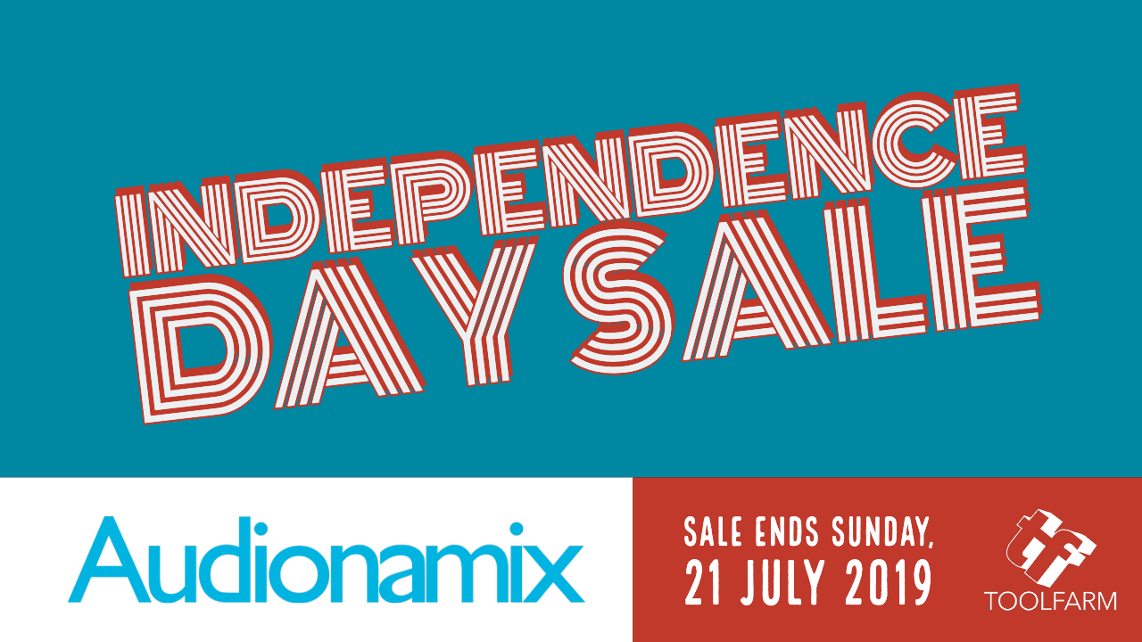 Audionamix independence day sale