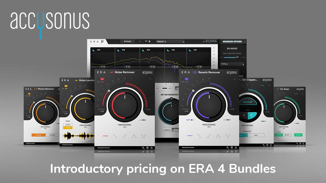 Accusonus ERA 4 Bundles