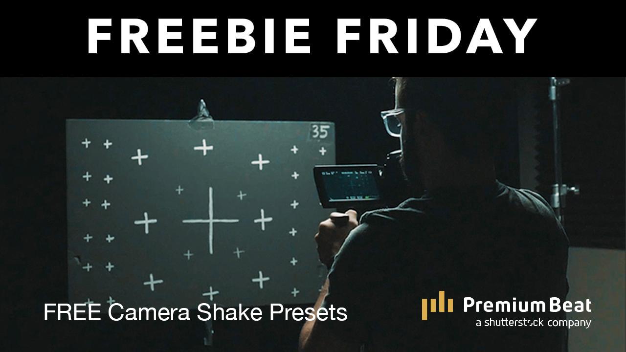 camera shake presets freebie
