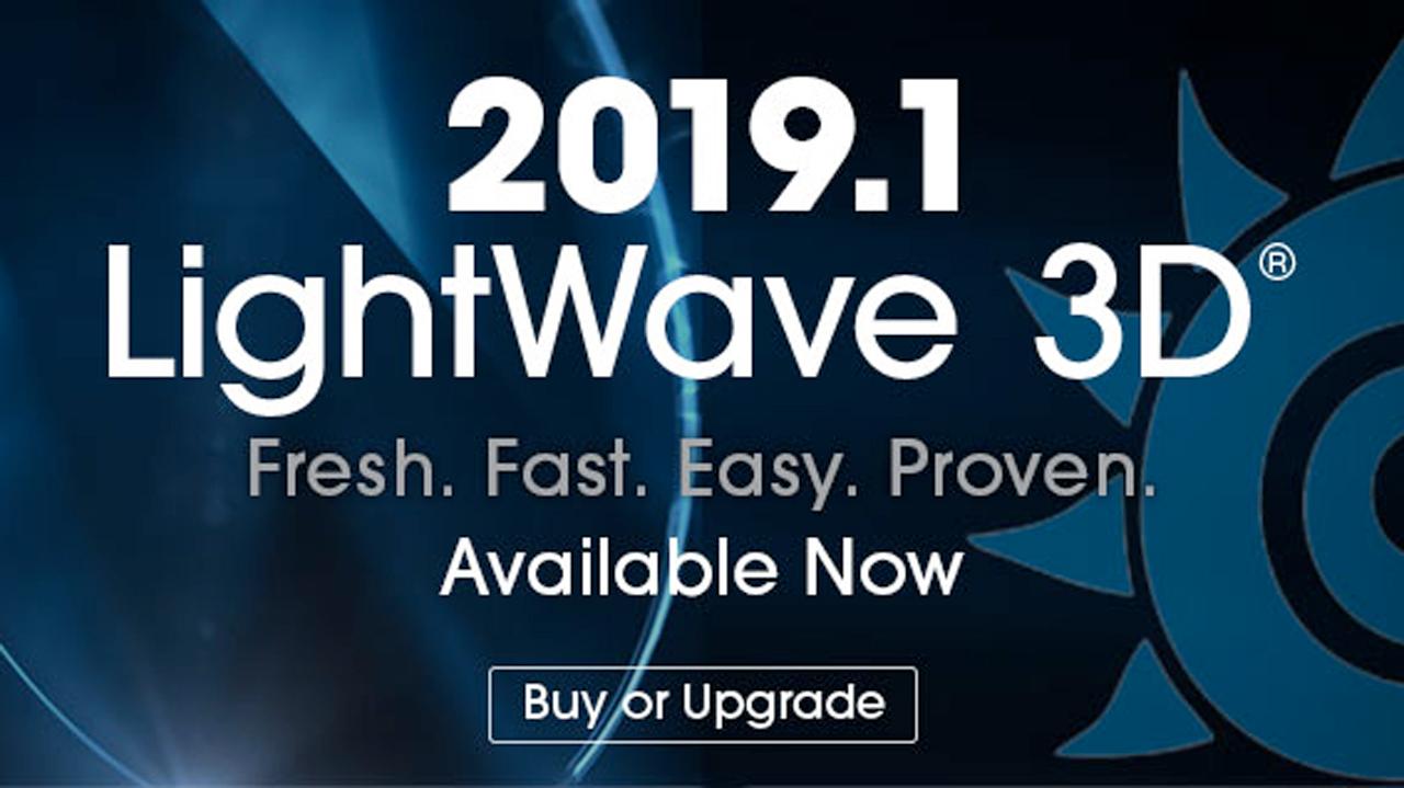 newtek lightwave 3D 2019.1