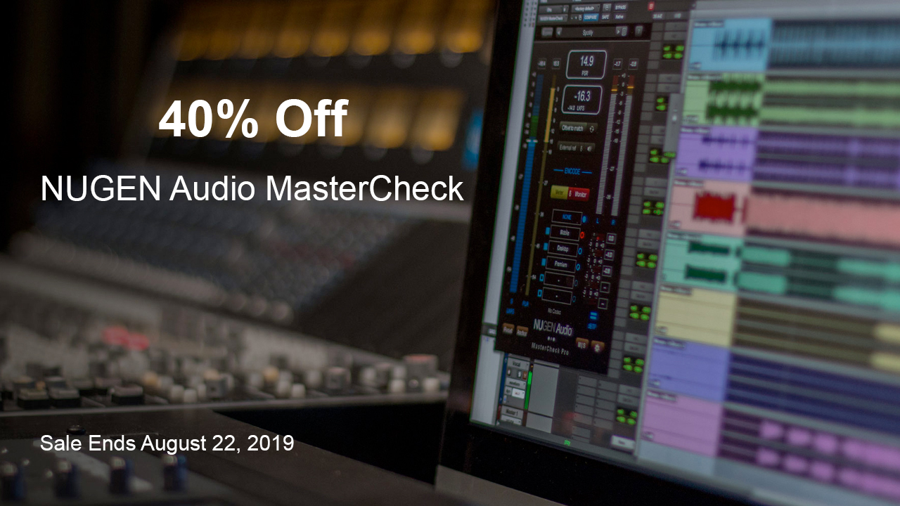 nugen audio mastercheck 40% off