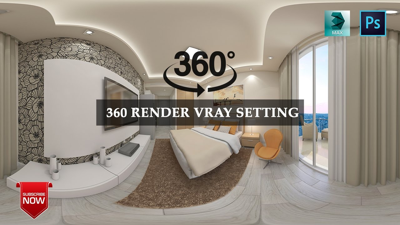 360° Panoramic Renders with 3ds Max and V-Ray