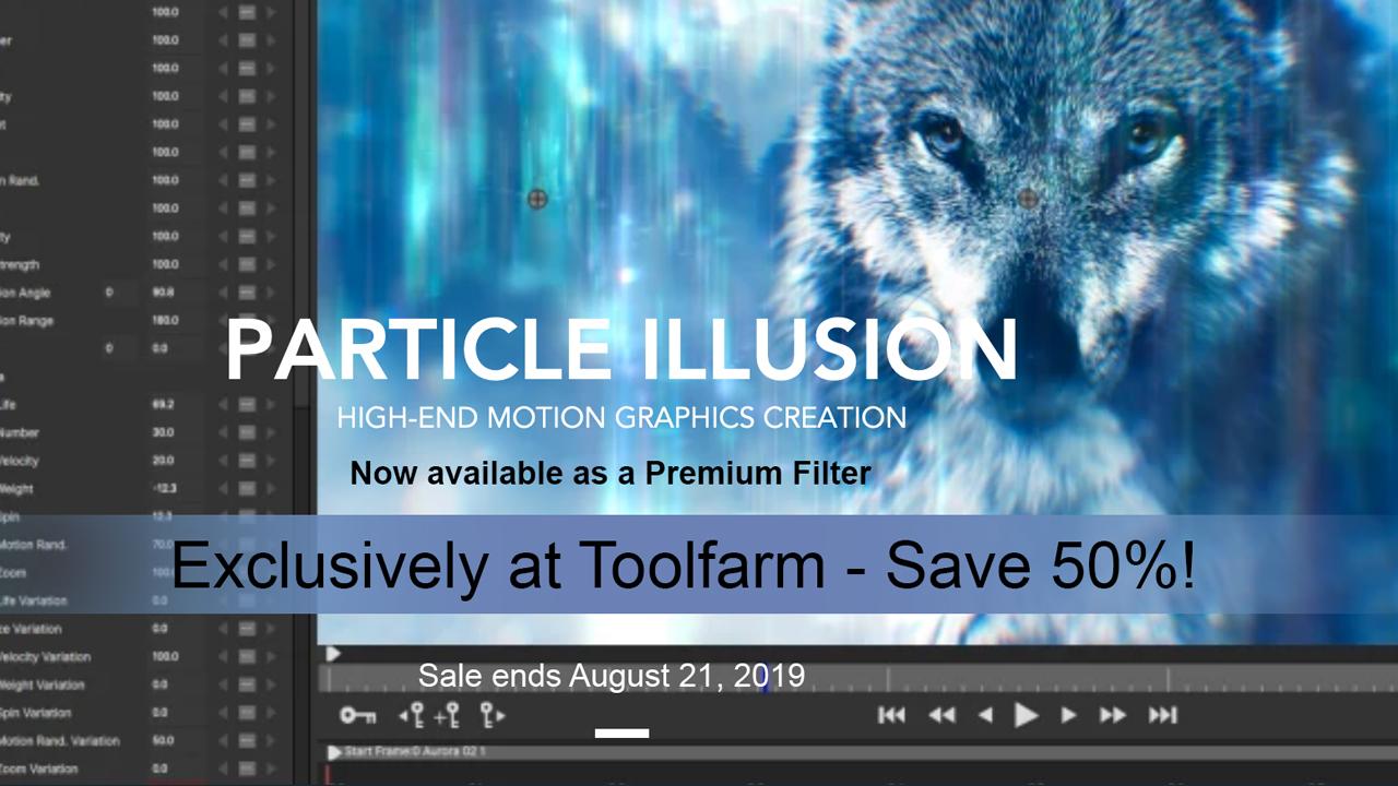 boris particle illusion premium filter