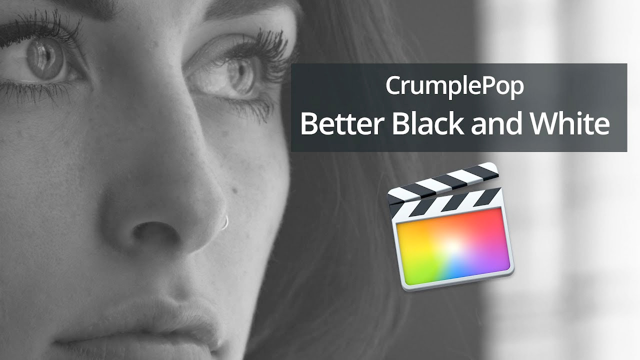 crumplepop better black and white tutorial