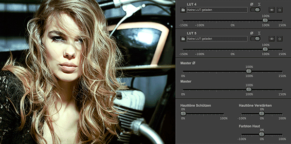 picture instruments lut mixer ui 2