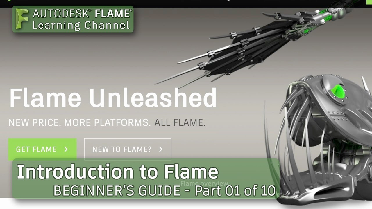 autodesk flame tutorials
