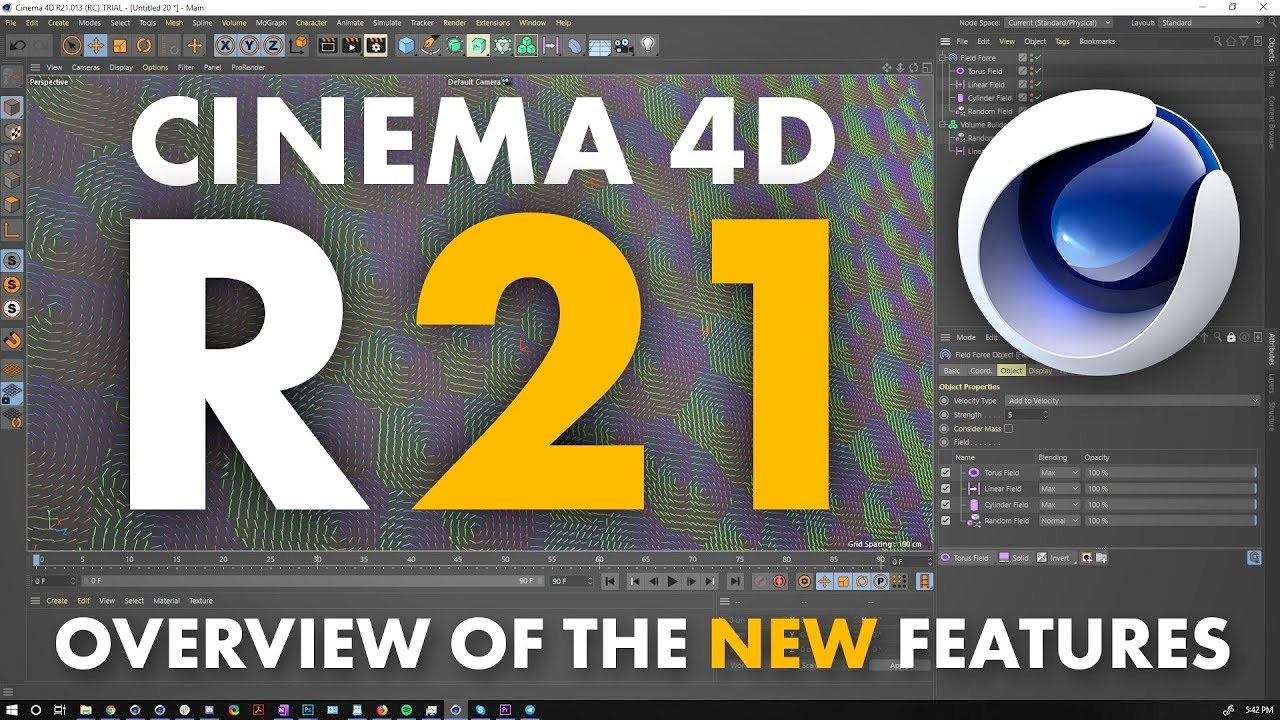 cinema 4d r21 new features breakdown