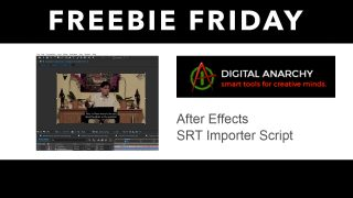 digital anarachy SRT importer freebie