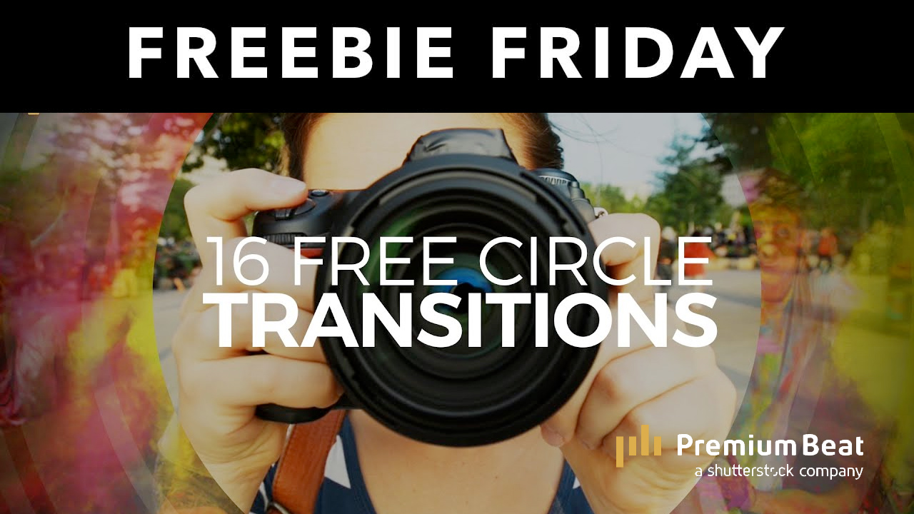 circle transitions freebie