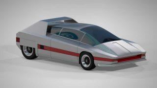 3D Sci-Fi Models alfa romeo concept car