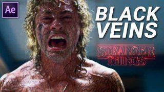 black veins