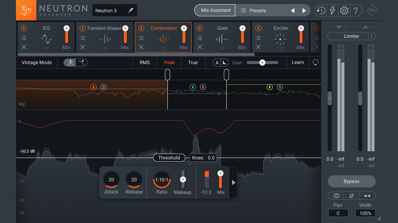 iZotope Neutron 3 Advanced with Mix Assistant