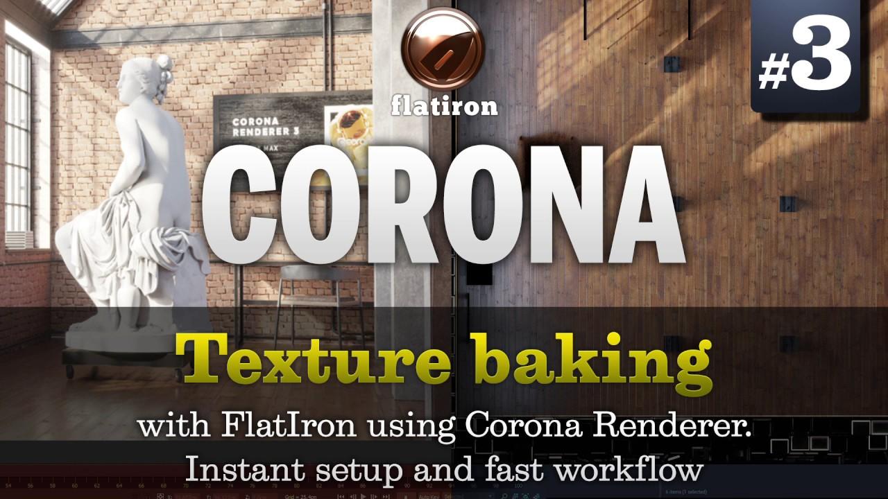Texture Baking 3d-io flatiron