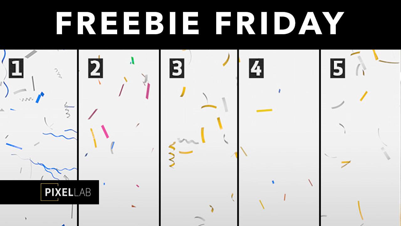 confetti rig freebie