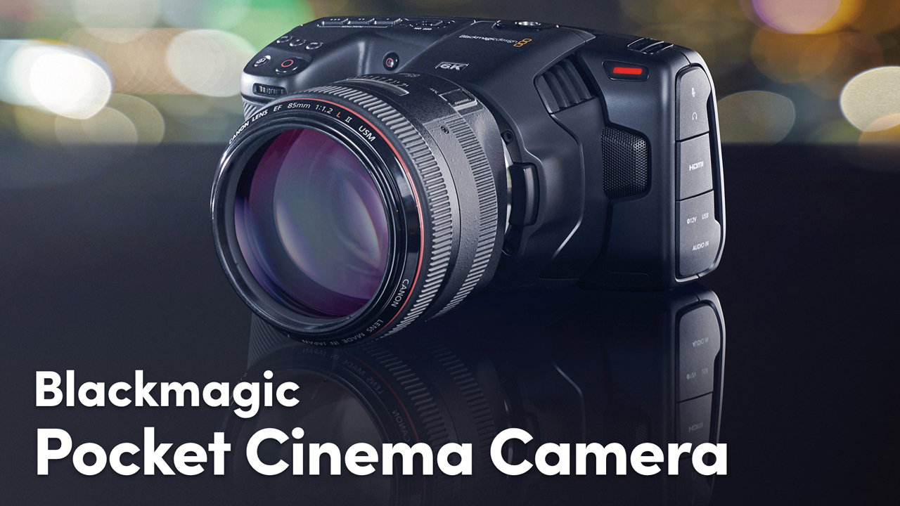 blackmagic camera 6k