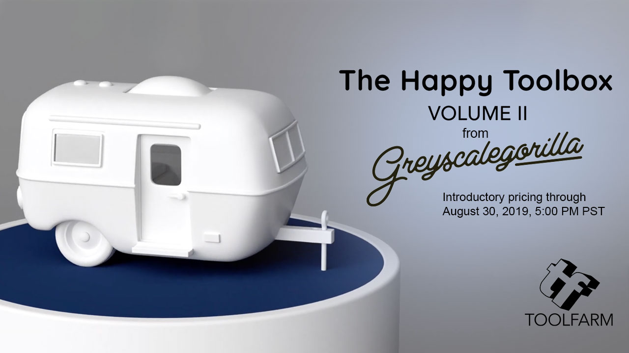 Greyscalegorilla Happy Toolbox Volume II Model Pack