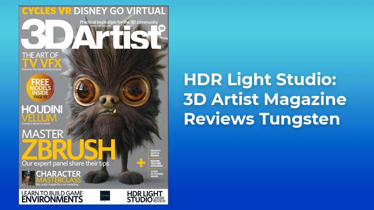 3D Artist Reviews Tungsten