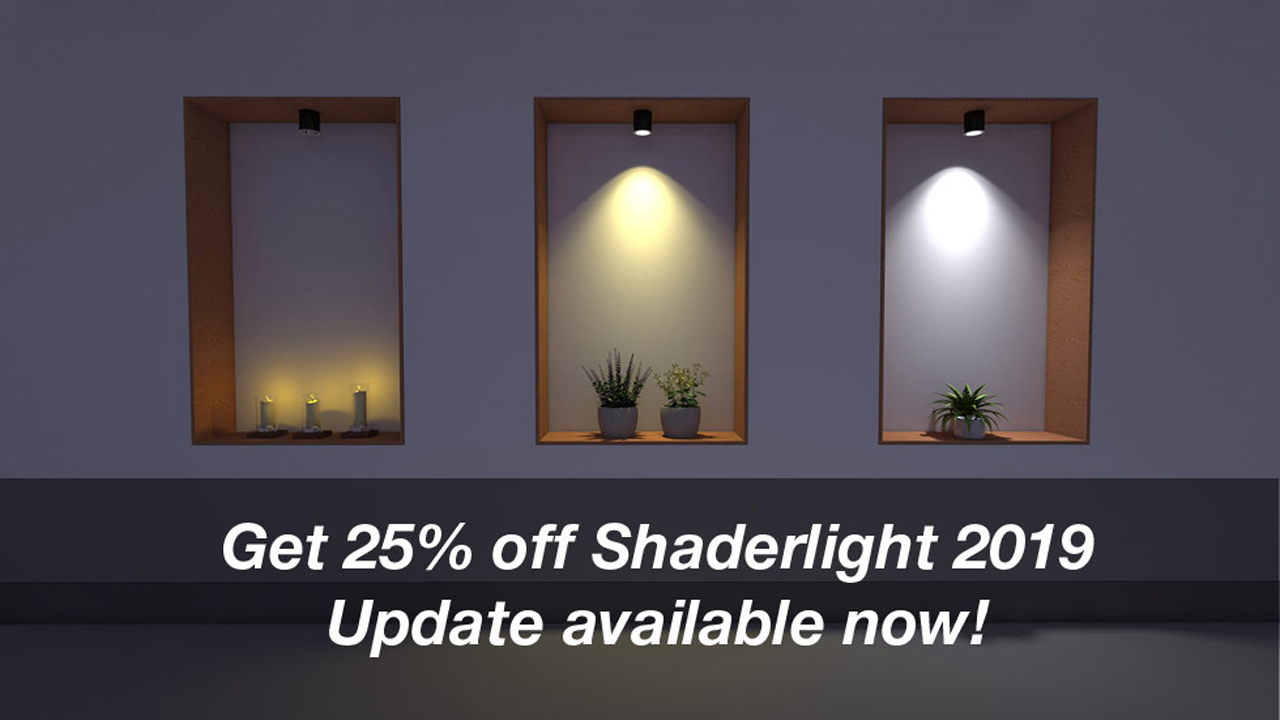 shaderlight pro 25% off