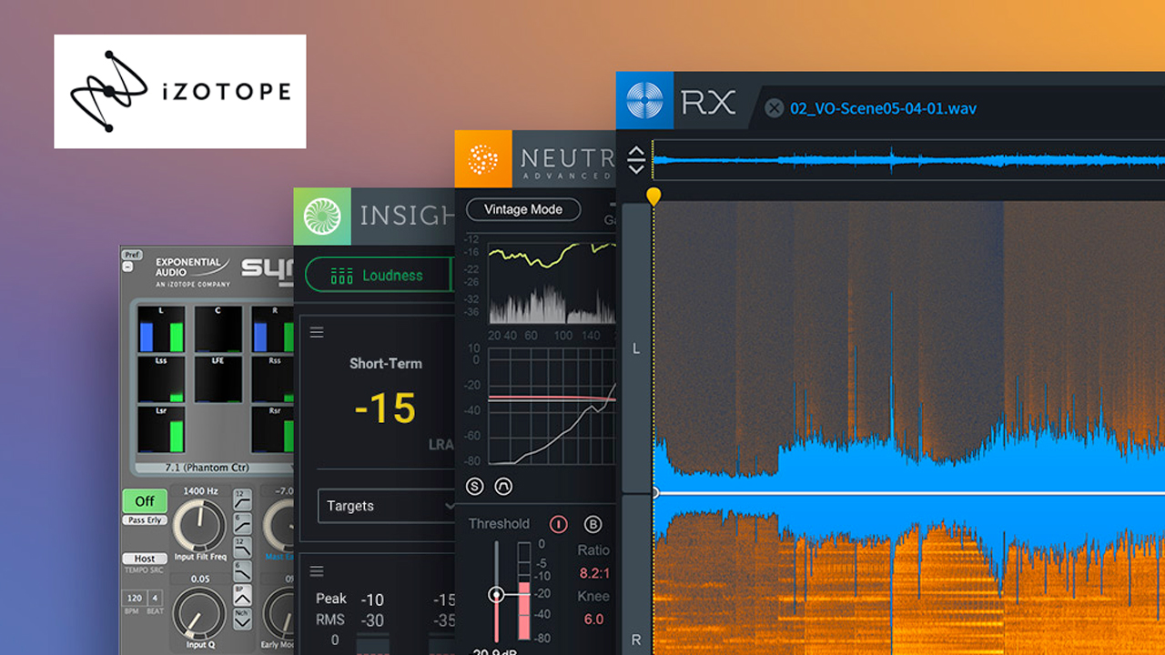 izotope rx & post production sale