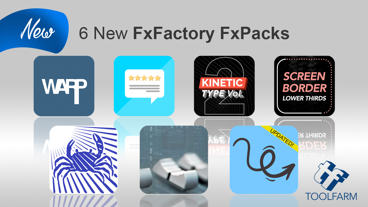 6 new fxfactory packs