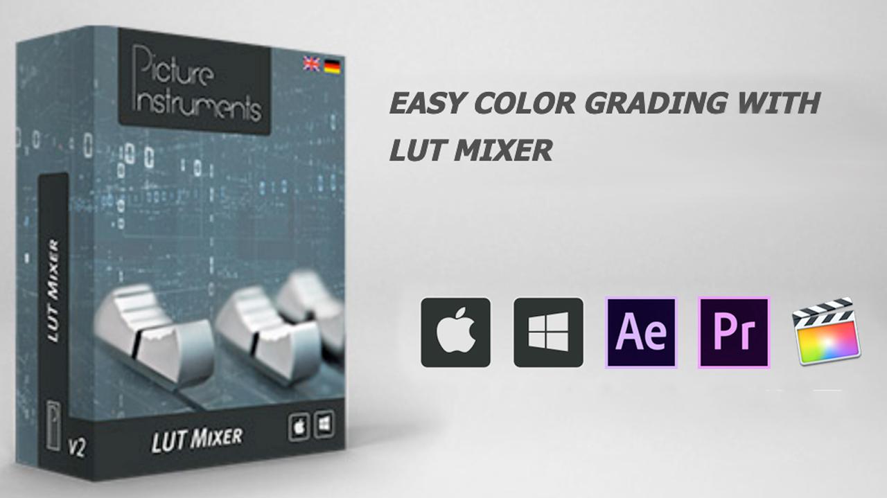 picture instruments lut mixer