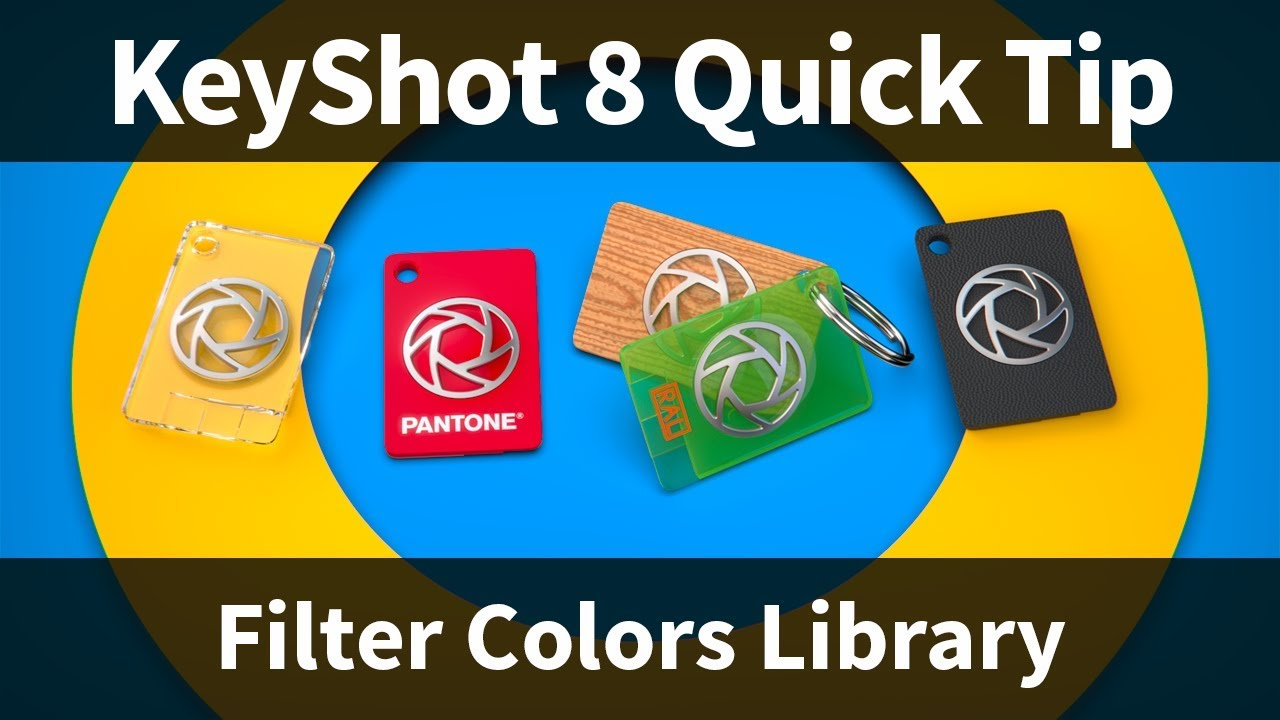 Filter Colors Keyshot Quick Tip
