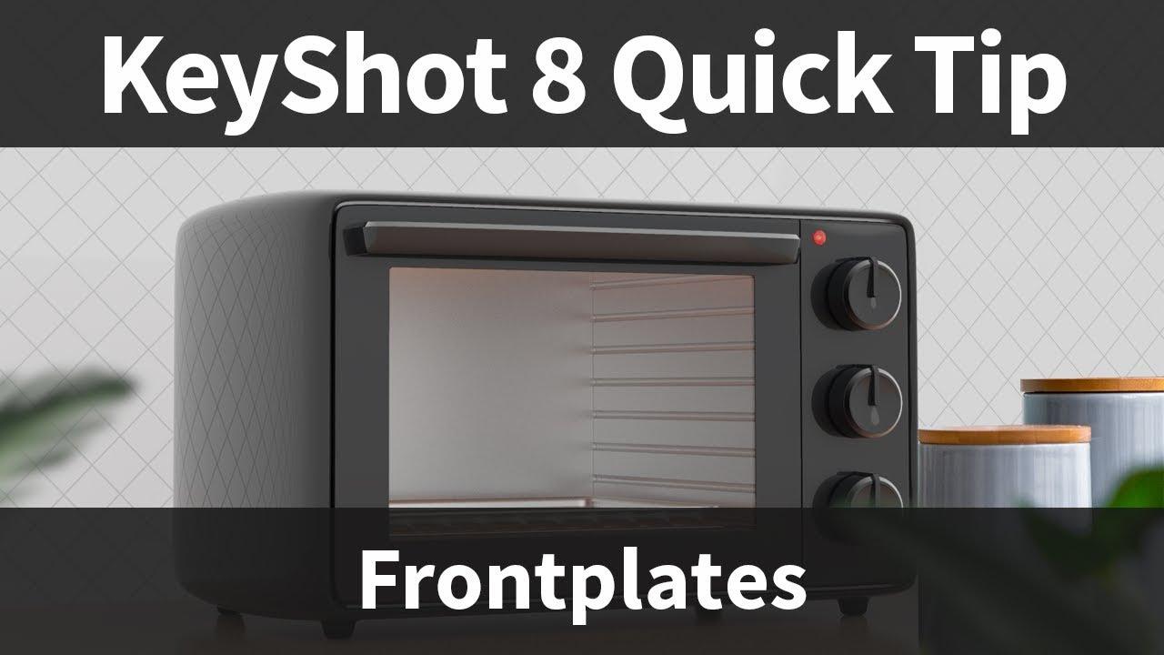 keyshot quick tip frontplates