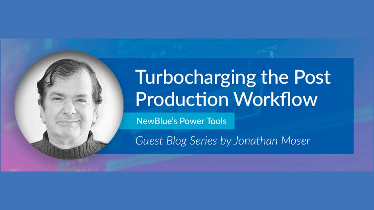 Jonathan Moser has a huge blog series (24 parts and counting) for NewBlueFX products like Titler Pro, Total FX 7, Total FX 360, NewBlueFX Amplify, and more.
