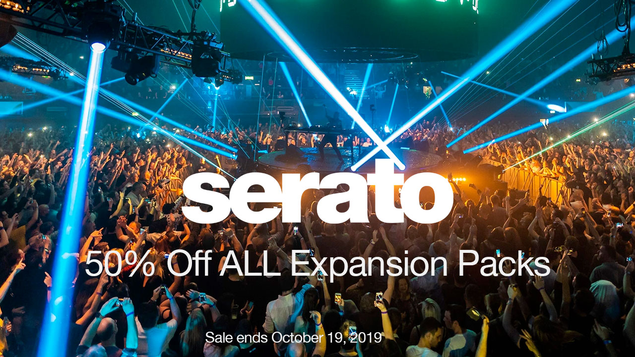 serato 50% off all expansion packs