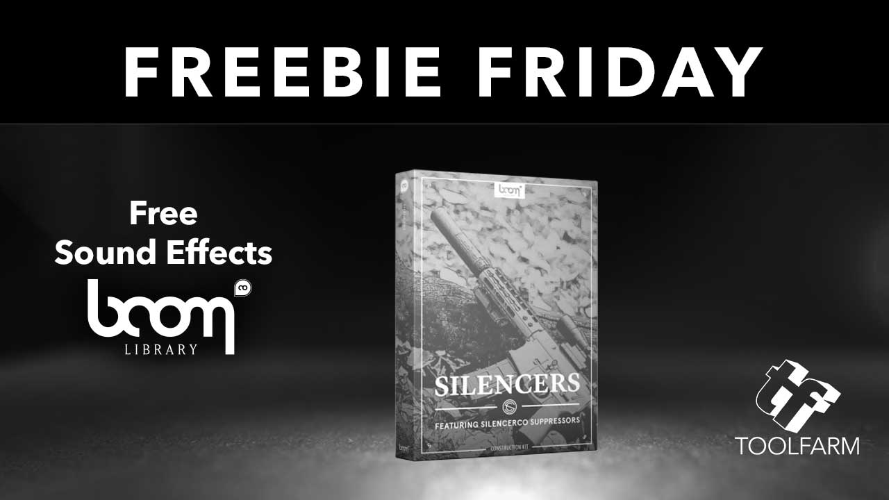 Freebie Friday Boom Audio Silencers