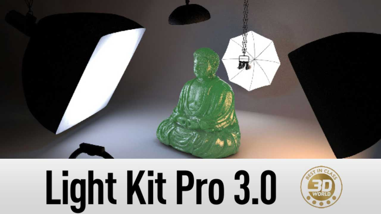 Greyscalegorilla Light Kit Review at 3D World magazine