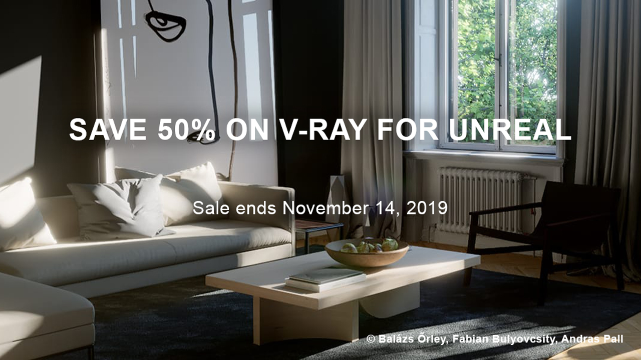 chaos group v-ray for unreal 50% Off