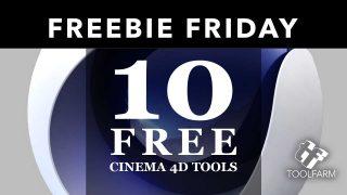 10 Free Cinema 4D Tools